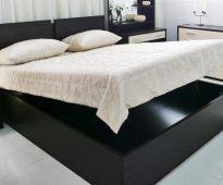 Quel est un lit confortable avec un mécanisme de levage 180x200, avantages et inconvénients.