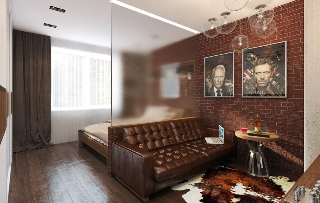 Salon design chambre classique