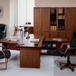 chaises de bureau en cuir