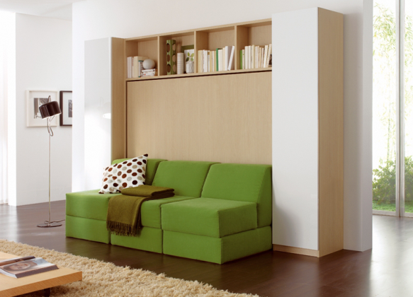 Lit-sofa-armoire Julia