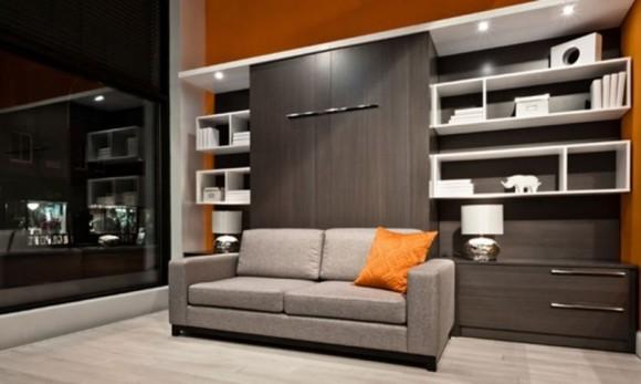 Lit pliant avec un canapé 3
