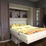 Lit de levage EURO avec un canapé-lit