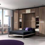 Canapé-lit encastré