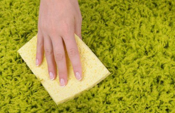 nettoyage de tapis à l'acide citrique