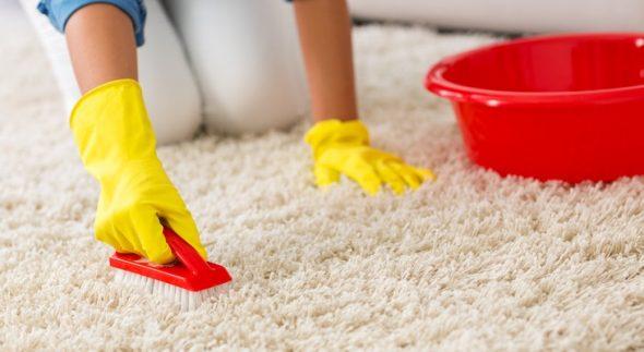 brosser le tapis