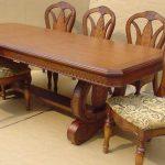 puiset pöydät ja tuolit
