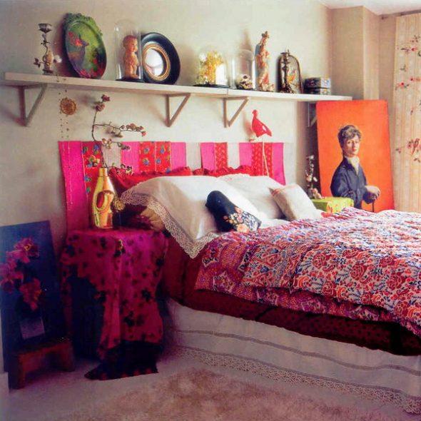Ideeën planken boven het bed