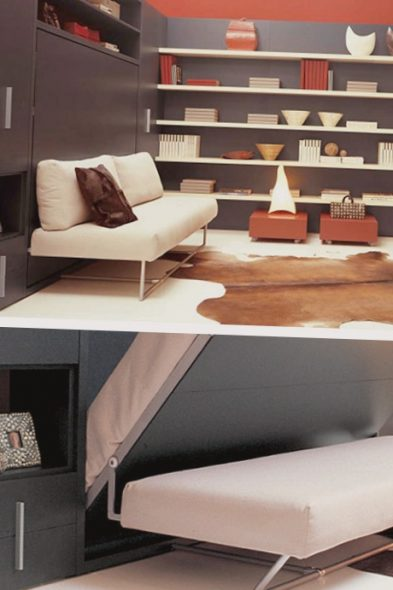 Ikea canapé-lit armoire