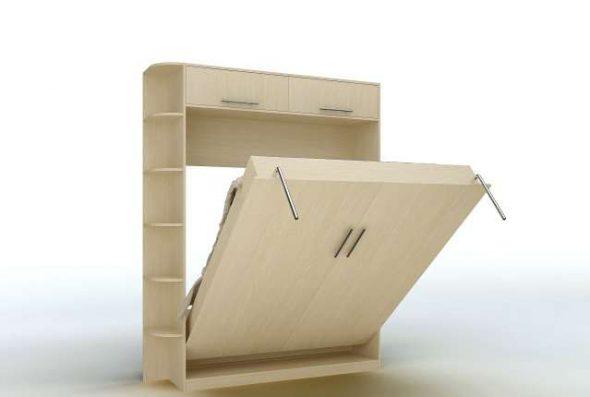 Kompakti makuuhuoneen muuntaja Ikeasta
