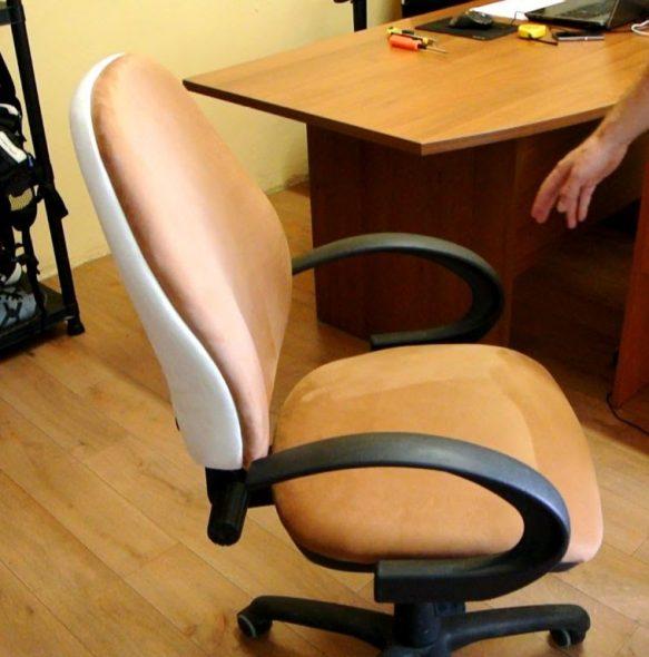 chaise d'ordinateur remplacer le rembourrage