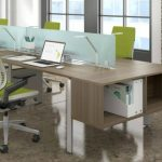 chaises de bureau vertes
