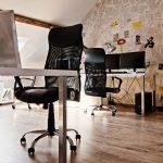 chaise d'ordinateur deux noir