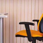 chaise d'ordinateur lumineux