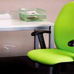 chaise d'ordinateur vert