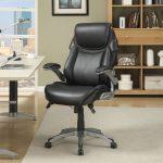 fauteuil en cuir au bureau