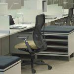 chaise de bureau avec mécanisme moderne