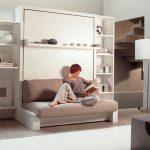 canapé-lit pour se détendre