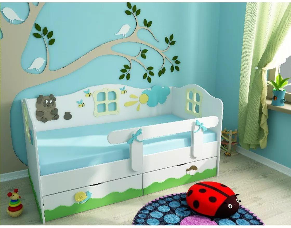 lit avec winnie l'ourson