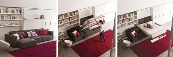 Transformateur de meubles à la mode d'Ikea