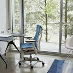 étude de chaise de bureau