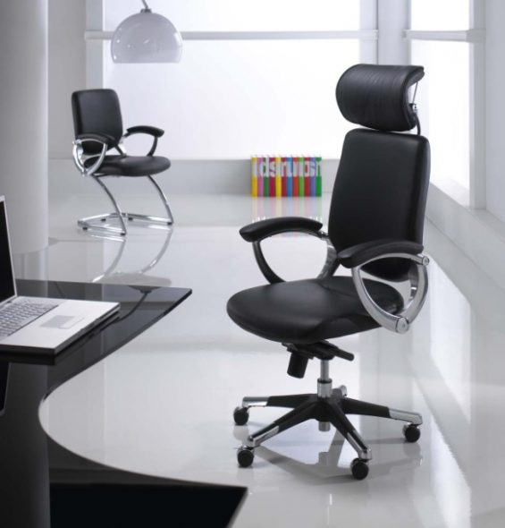 chaise de bureau avec mécanisme