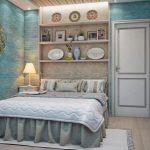 Wanddecoratie boven het bed