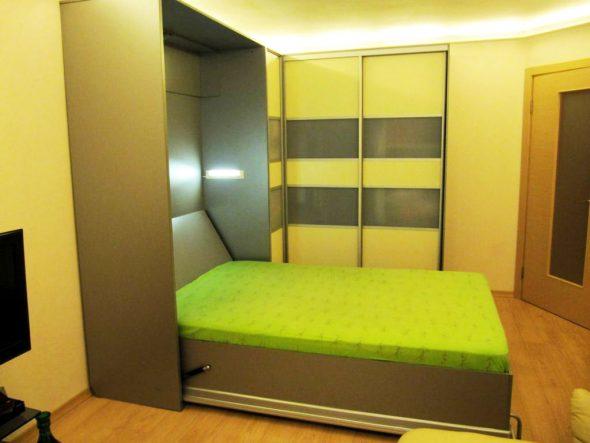 Pliant, lit armoire intégré