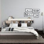 Monsterplank boven het bed
