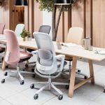 chaises de bureau modernes de différentes couleurs