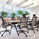 chaise de bureau à balançoire