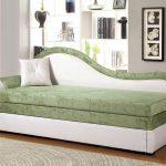 Ottoman blanc vert
