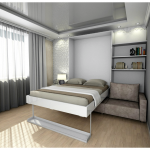 Viihtyisä muutettava sänky Ikea