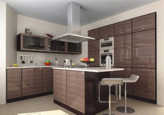 Set de cuisine beige