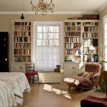 Boekenkasten in de slaapkamer