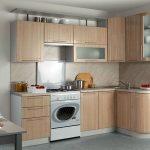 Set de cuisine angulaire