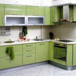 Set de cuisine d'angle pour petites cuisines