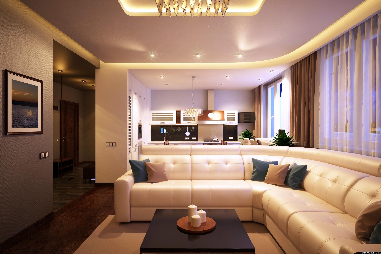 design d'intérieur de salon moderne