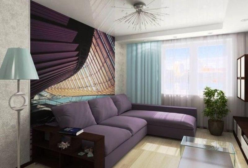 kleine slaapkamer met een bank