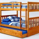 lit superposé avec lit gigogne