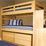 lit superposé fait maison