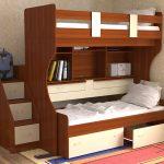 transformateur de lit superposé