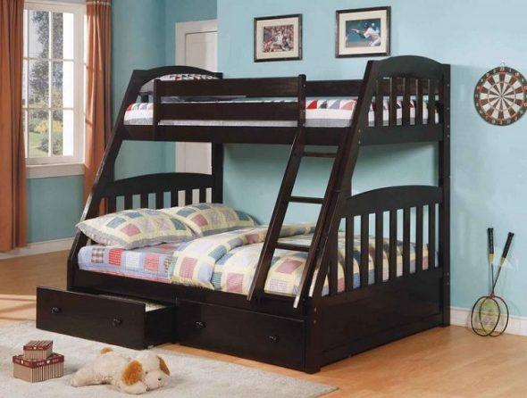 superposés trois lits