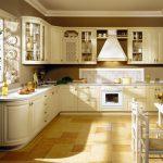 élément de cuisine de couleur délicate