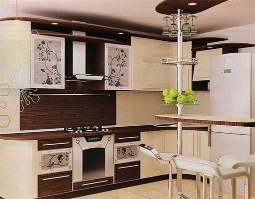 nuances de meubles de cuisine