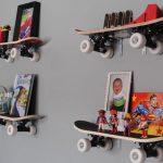 seinähyllyjä luodessasi voit käyttää kaikkein poikkeuksellisia ideoita