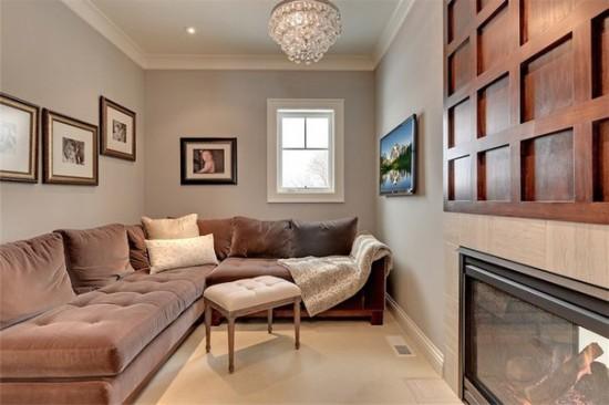 disposer les meubles dans une pièce longue et étroite