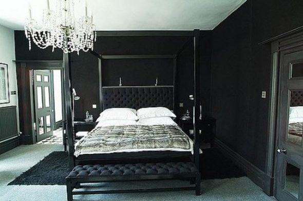Intérieur de la chambre noire