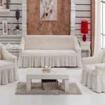 ensemble de housses pour le canapé et les chaises