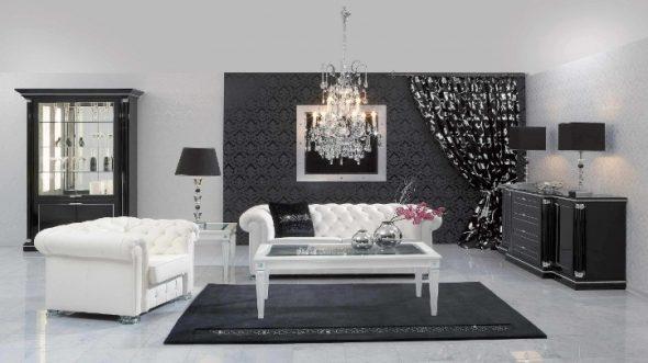 mobilier noir adapté à toutes les pièces