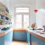 cuisine design 6 carrés